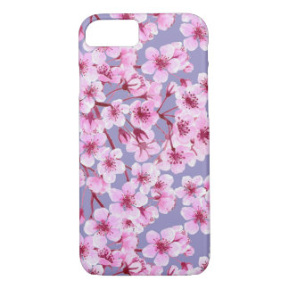 Cherry blossom pattern iPhone 8/7 case