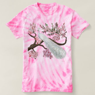 Cherry Blossom Peacock T-Shirt