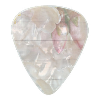 Cherry Blossom Pearl Celluloid Guitar Pick