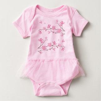 Cherry Blossom-Pink Baby Bodysuit