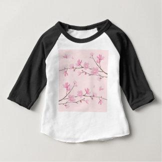 Cherry Blossom - Pink Baby T-Shirt