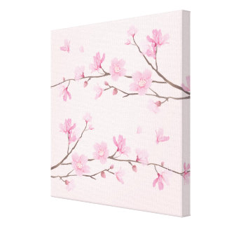 Cherry Blossom - Pink Canvas Print