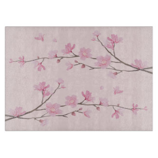 Cherry Blossom - Pink Cutting Board