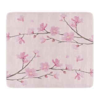 Cherry Blossom - Pink Cutting Board