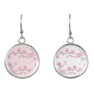 Cherry Blossom - Pink Earrings