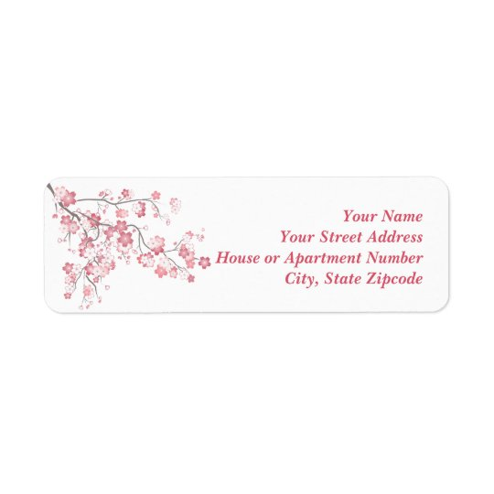 Cherry Blossom Pink Label
