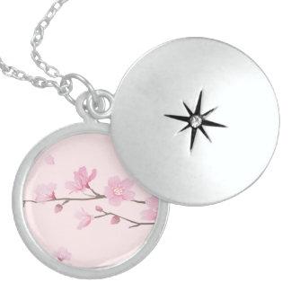 Cherry Blossom - Pink Locket Necklace