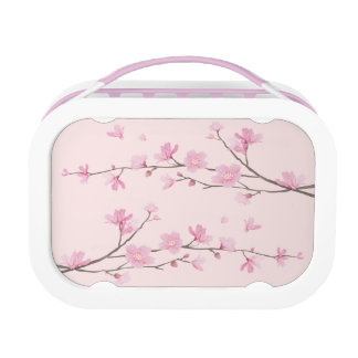 Cherry Blossom - Pink Lunch Box