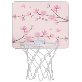 Cherry Blossom - Pink Mini Basketball Hoop