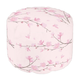 Cherry Blossom - Pink Pouf