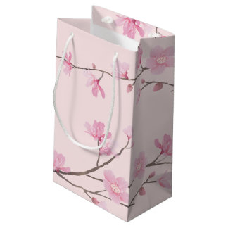 Cherry Blossom - Pink Small Gift Bag
