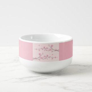 Cherry Blossom - Pink Soup Mug