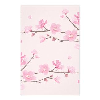 Cherry Blossom - Pink Stationery