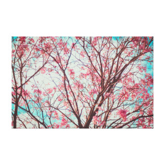 Cherry Blossom  | Pink | Yoga Canvas Print