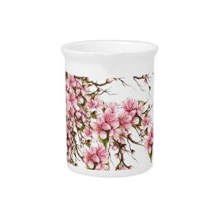 Cherry Blossom Pitcher