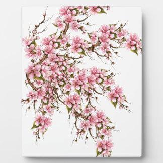 Cherry Blossom Plaque