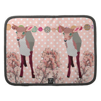 Cherry Blossom Pretty Pink Fawn Planner/  Rickshaw