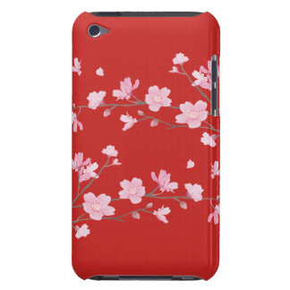 Cherry Blossom - Red iPod Touch Case-Mate Case