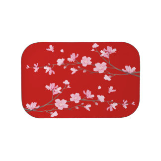 Cherry Blossom - Red Lunchboxes