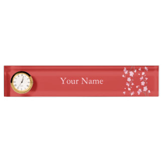 Cherry Blossom - Red Nameplates