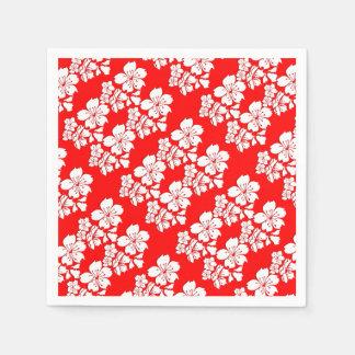 Cherry blossom red sakura spring disposable serviettes
