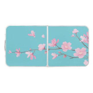 Cherry Blossom - Robin egg blue Beer Pong Table