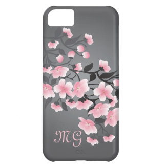 Cherry blossom (Sakura) Monogram iPhone 5C Case