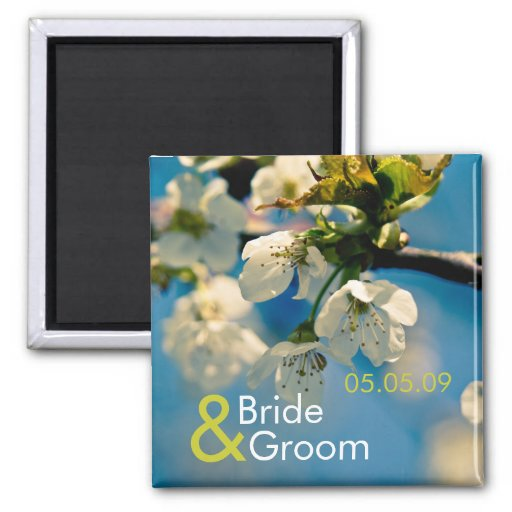 Cherry Blossom • Save the Date Magnet