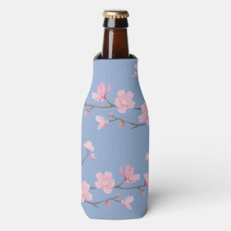 Cherry Blossom - Serenity Blue Bottle Cooler