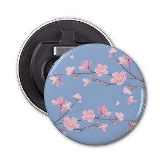 Cherry Blossom - Serenity Blue Bottle Opener