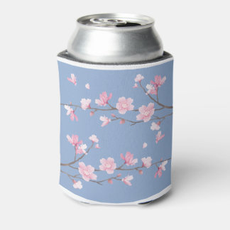 Cherry Blossom - Serenity Blue Can Cooler