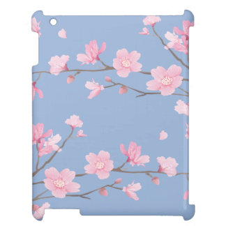 Cherry Blossom - Serenity Blue Cover For The iPad