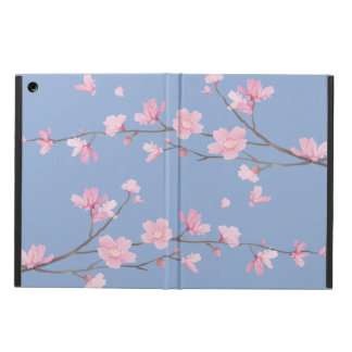 Cherry Blossom - Serenity Blue iPad Air Cases