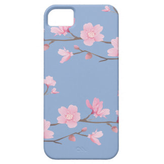 Cherry Blossom - Serenity Blue iPhone 5 Cover