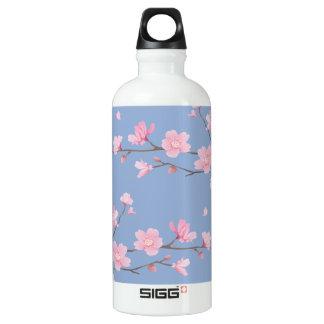 Cherry Blossom - Serenity Blue SIGG Traveller 0.6L Water Bottle