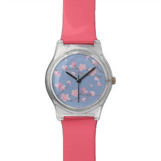 Cherry Blossom - Serenity Blue Watch