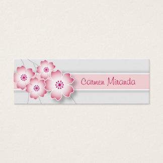 Cherry Blossom Skinny Card