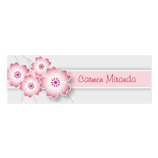 Cherry Blossom Skinny Card Pack Of Skinny Business Cards