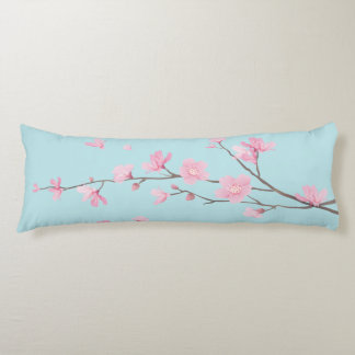 Cherry Blossom - Sky Blue Body Cushion