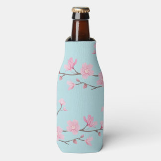 Cherry Blossom - Sky Blue Bottle Cooler
