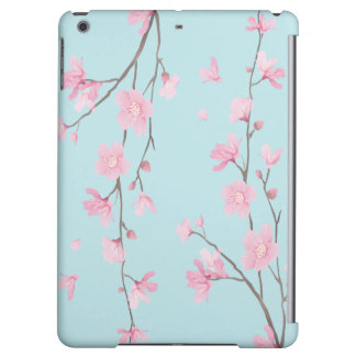 Cherry Blossom - Sky Blue Cover For iPad Air