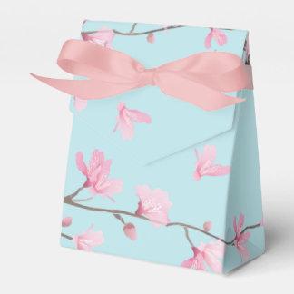 Cherry Blossom - Sky Blue Favour Box