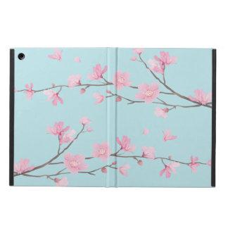 Cherry Blossom - Sky Blue iPad Air Case