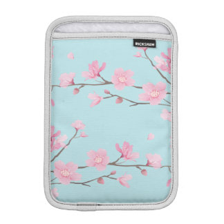 Cherry Blossom - Sky Blue iPad Mini Sleeve