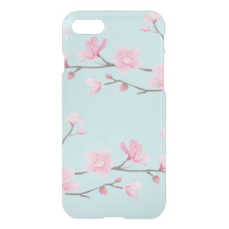 Cherry Blossom - Sky Blue iPhone 8/7 Case