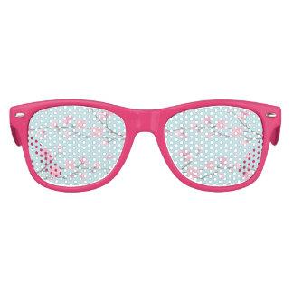 Cherry Blossom - Sky Blue Kids Sunglasses