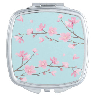 Cherry Blossom - Sky Blue Mirror For Makeup