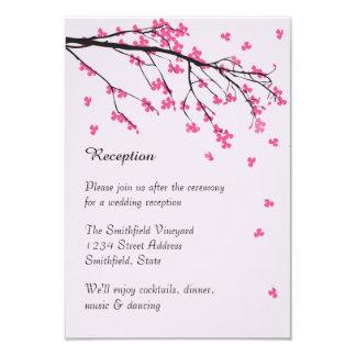 Cherry Blossom Stem - Reception Invitation
