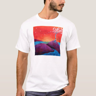 Cherry Blossom Sunset T-Shirt