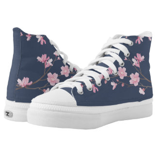 Cherry Blossom - Tannin High Tops